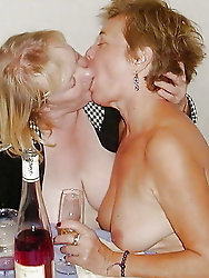 Older and hot 310 (Kissing granny)
