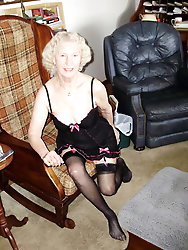 Granny is a hot little number