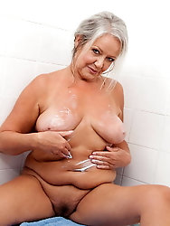 Horny aged milf enjoys fucking so much