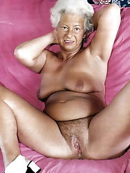 Mature grandmother for any taste