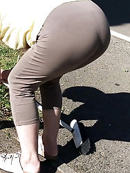Perfect granny ass