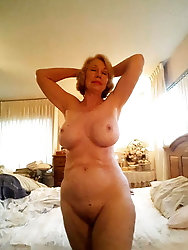 Dissolute mature MILFs are exposing their sexy ass