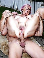 Sexy Granny Nude